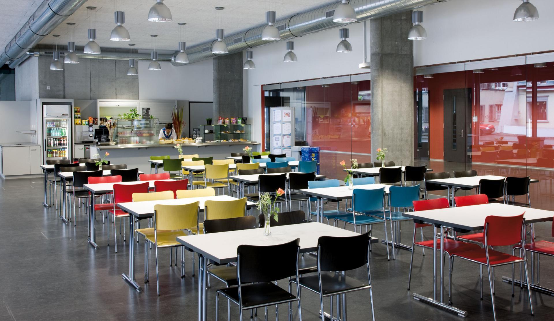 Cafetarias and auditorium