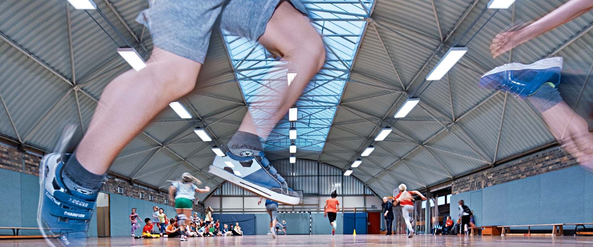 Led Lighting For Sports Halls And Fields Trilux