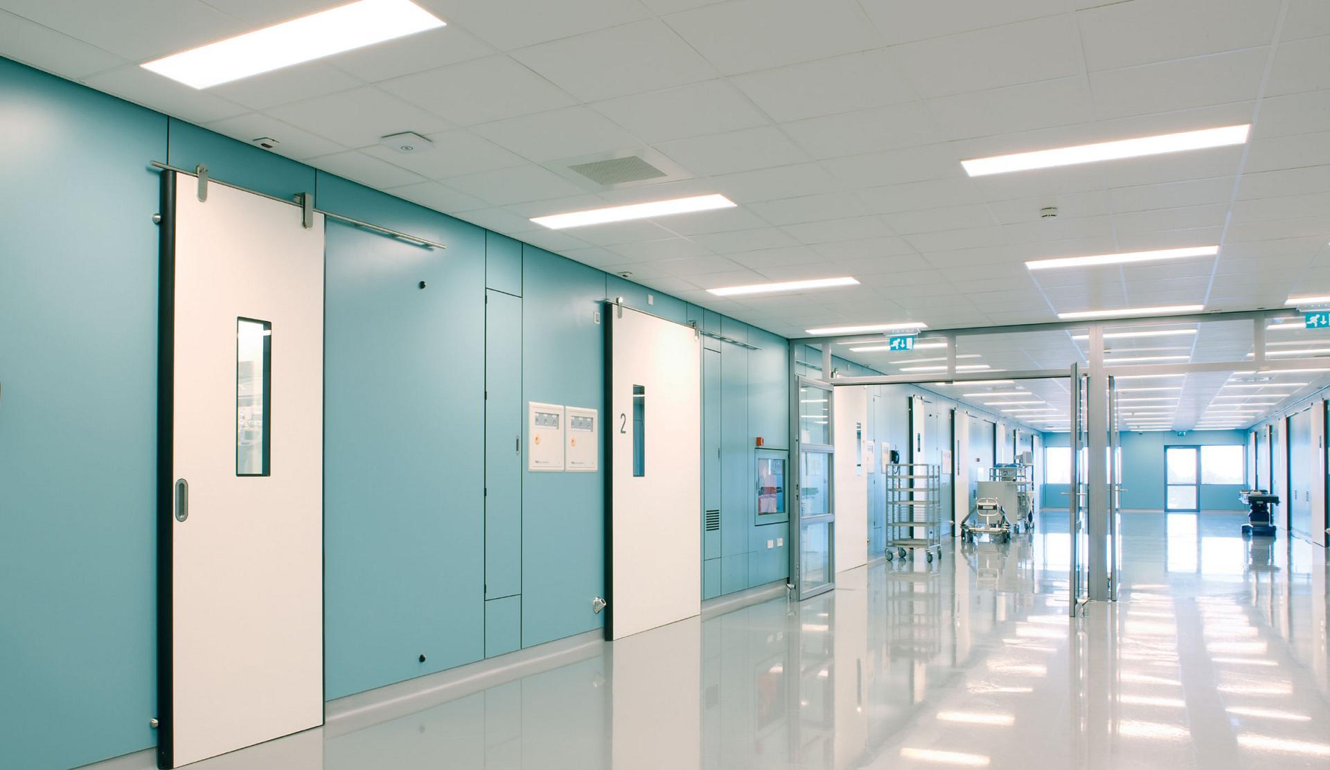 Led Utility Light >> Healthcare lighting - LED lighting for healthcare by TRILUX