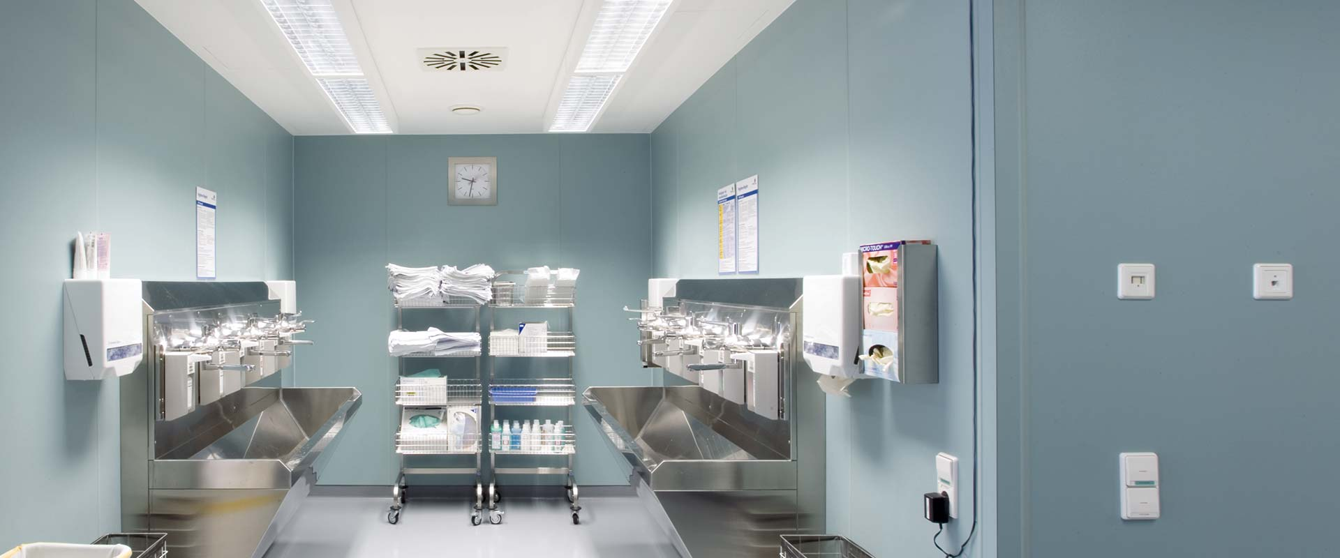Utility Room Lighting Led Light For Care Homes By Trilux