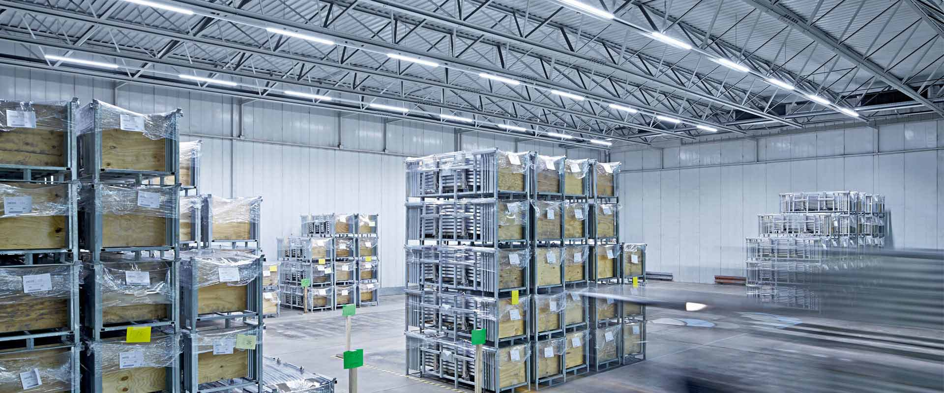 Led Warehouse Lighting By Trilux