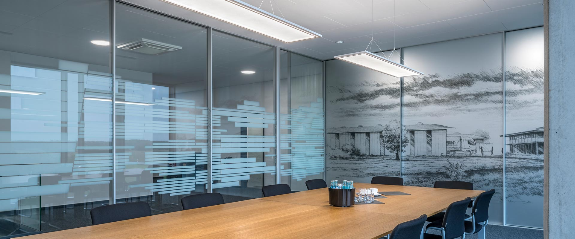 Conference Room Lighting Meeting Trilux