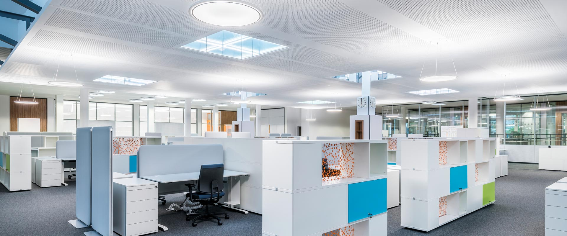Lighting For Open Plan Offices E Trilux