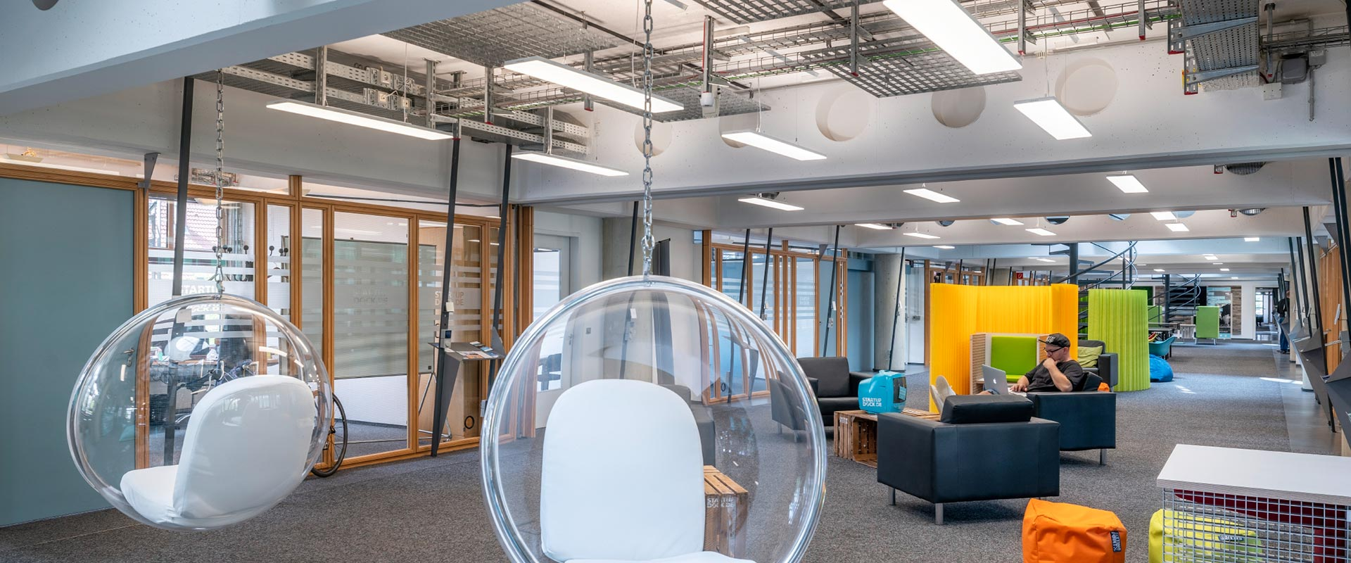 office space lighting large open space lighting for offices references space office applications trilux