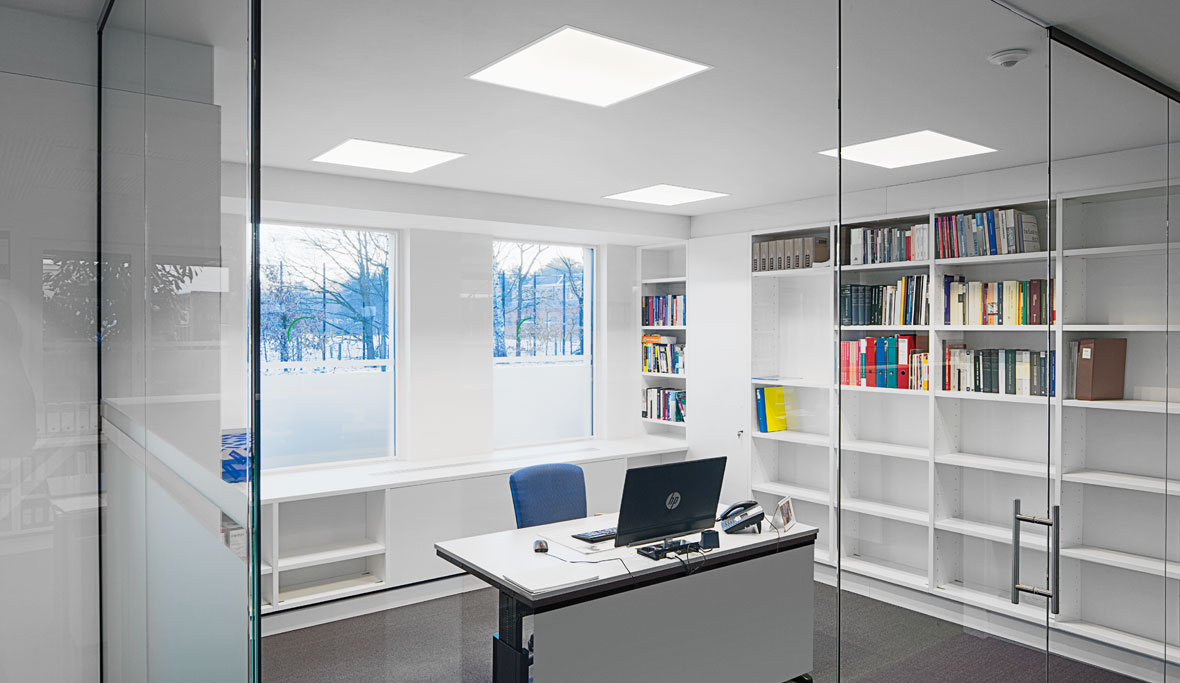 LED lighting for offices & office lighting design - TRILUX