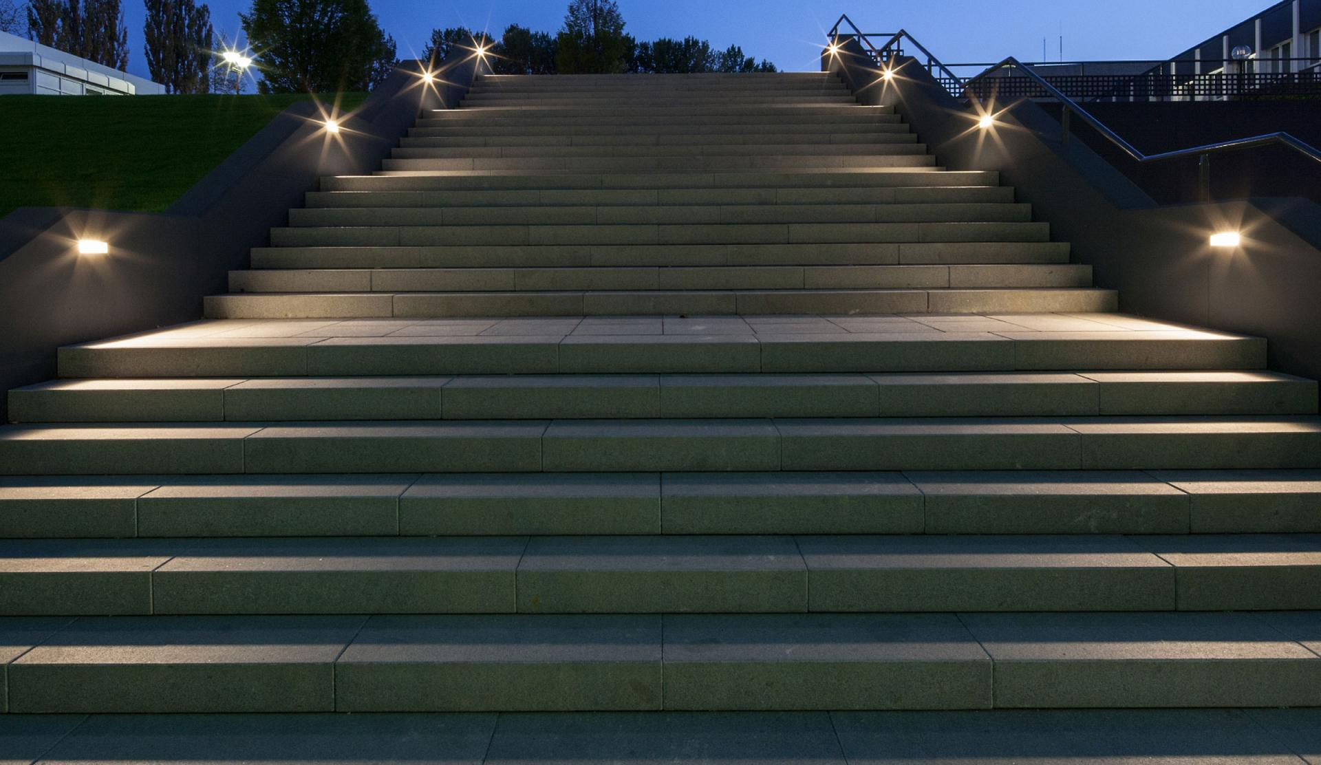 outdoor stairway lighting led outdoor lighting by trilux