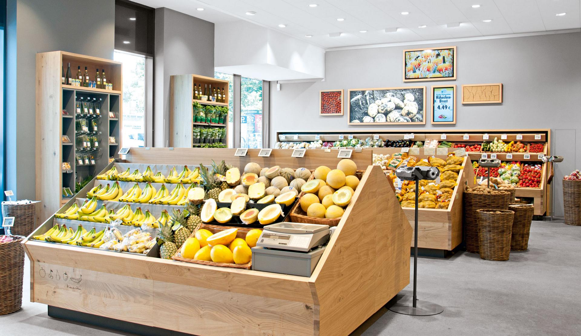 Food sales areas shop retail applications trilux for Cuisine store
