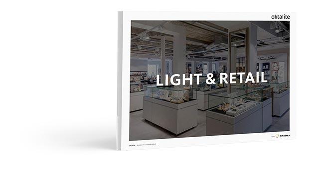 Illuminazione led per negozi e vetrine prodotti trilux