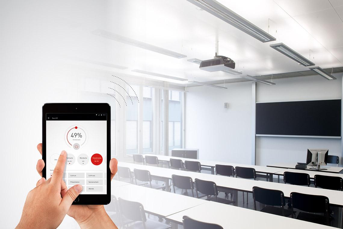 Illuminazione Per Controllo Qualità : Sistemi di illuminazione e management trilux