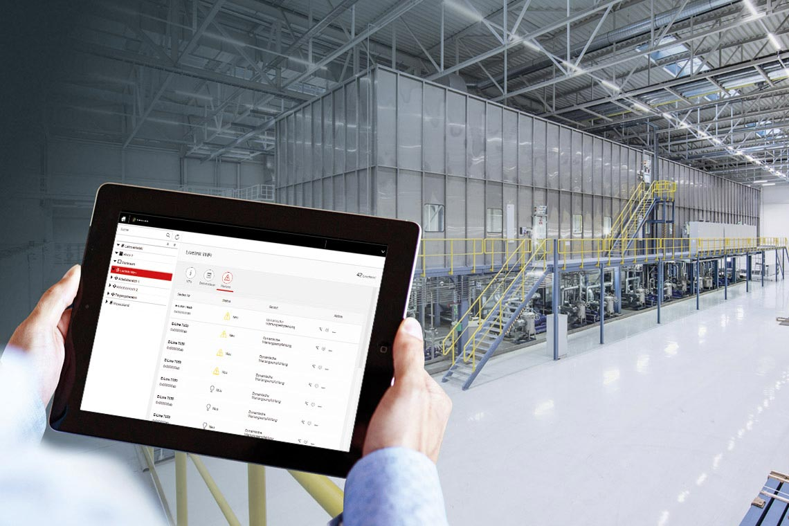 Predictive Maintenance Lighting Control Software Trilux