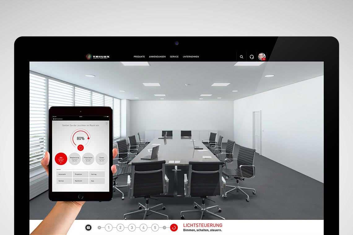 trilux portal effizient arbeiten trilux simplify your light. Black Bedroom Furniture Sets. Home Design Ideas