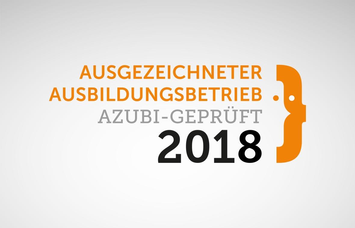 """""""WIR können Ausbildung!"""" – Ausgezeichneter Ausbildungsbetrieb 2018"""