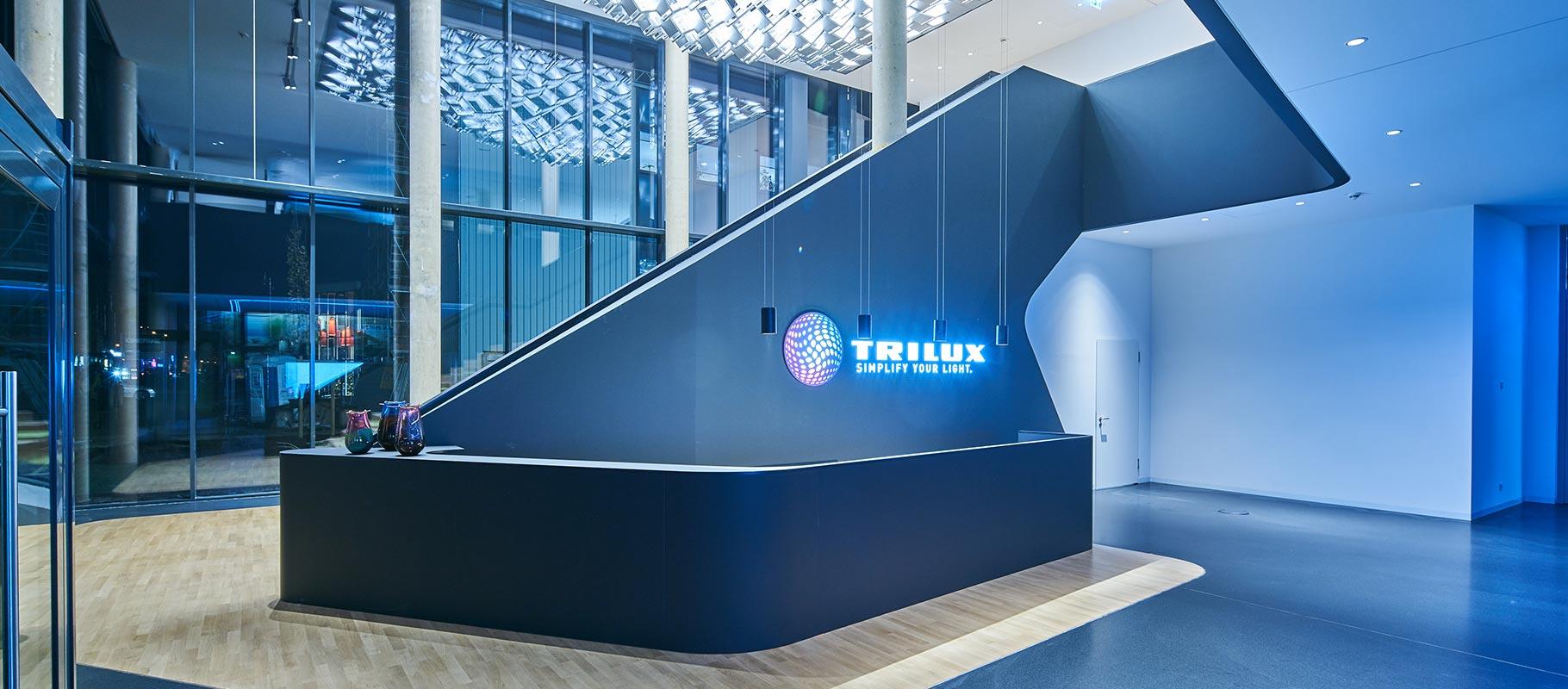Parkplatzbeleuchtung   TRILUX
