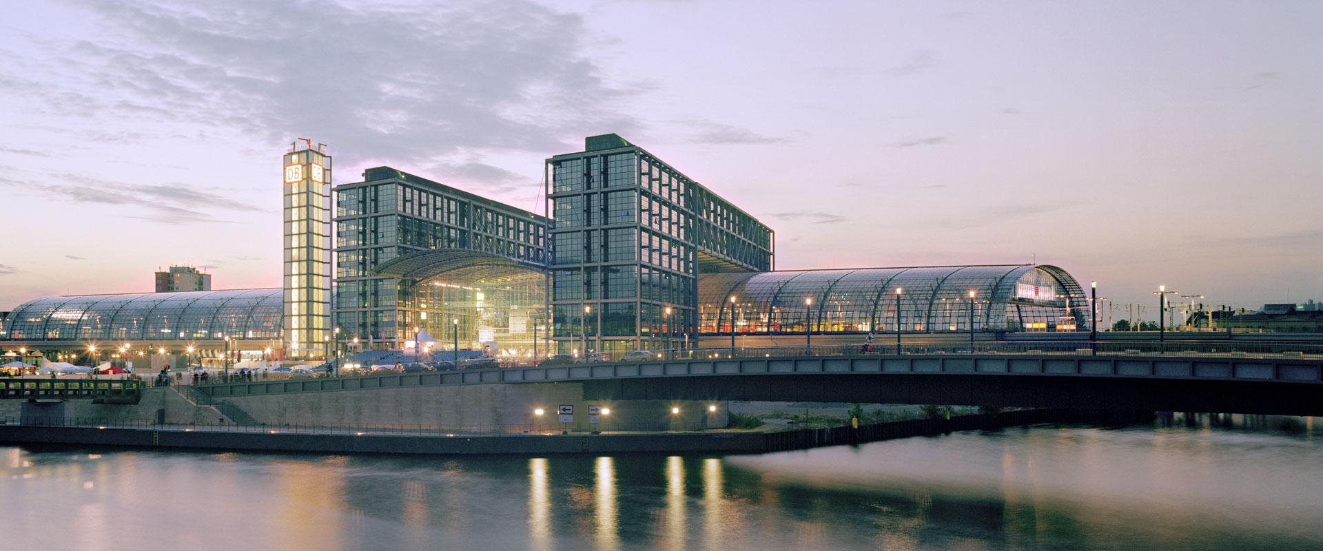 La gare centrale de Berlin Berlin Allemagne