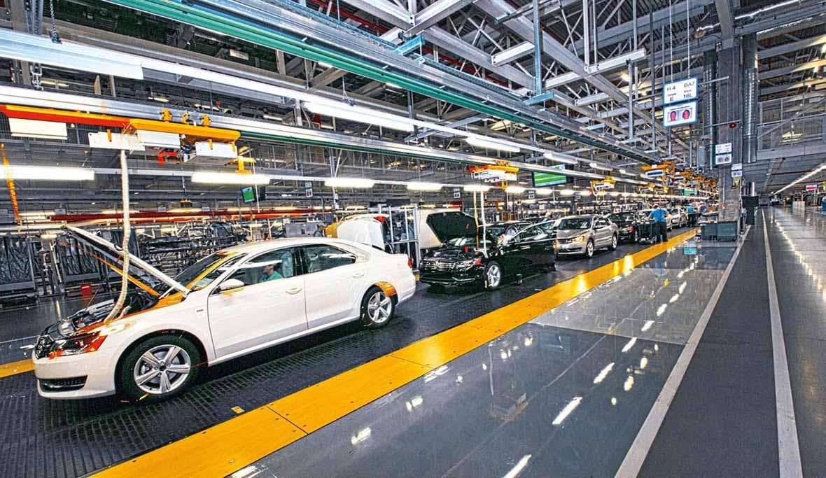 Fábrica de VW en Chattanooga, EE.UU.