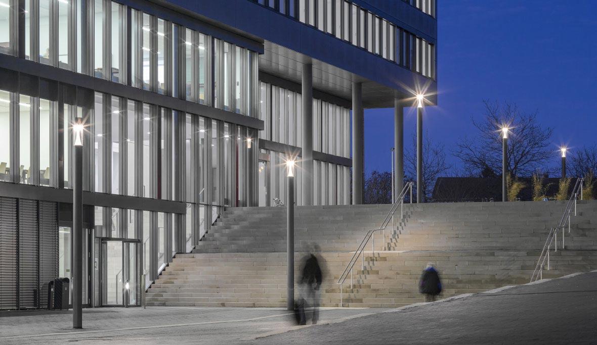 La universidad de Paderborn, Alemania