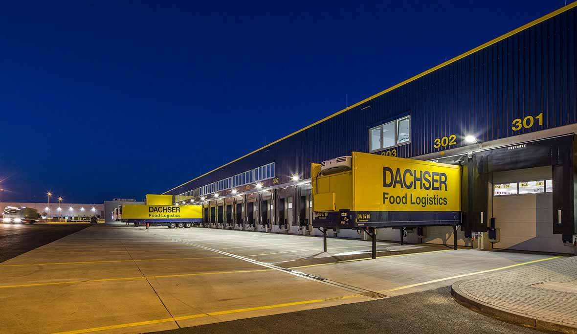 Dachser logistics centre - Berlin, Germany