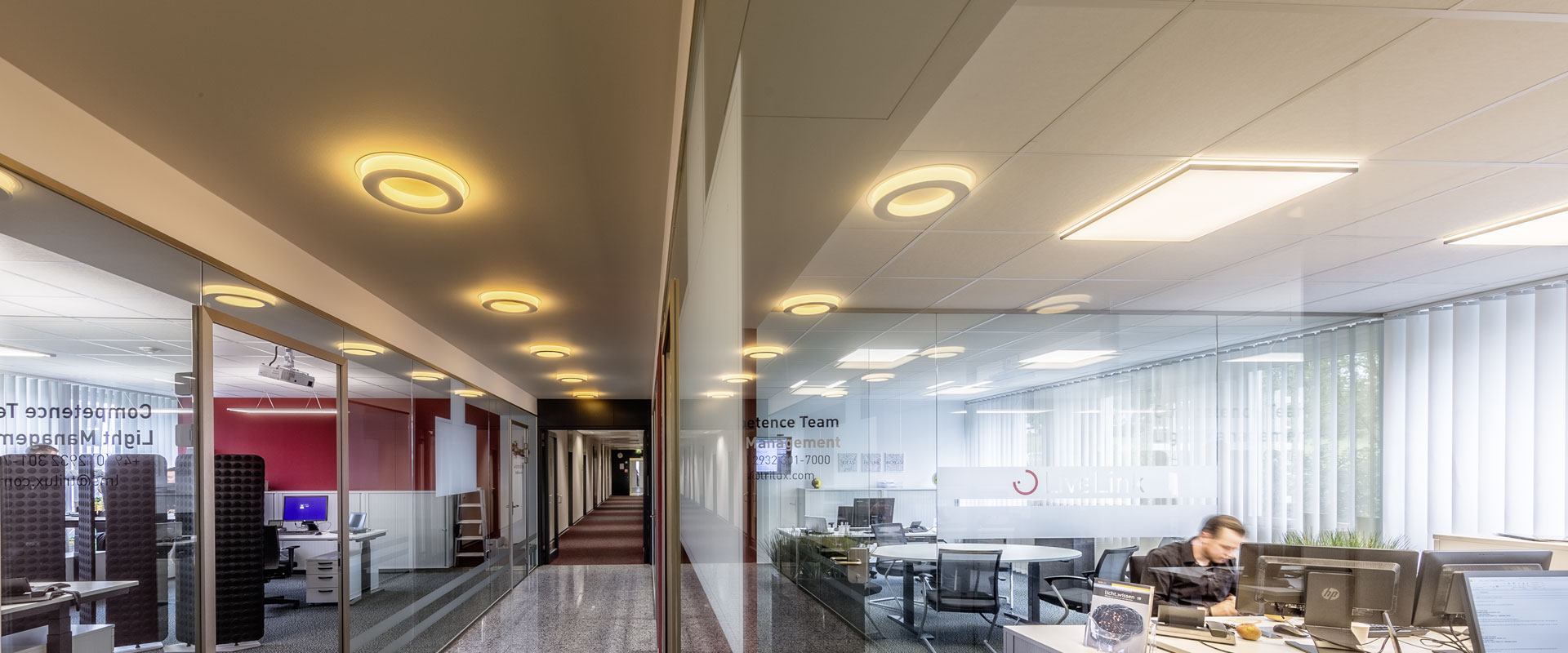 Human Centric Lighting In Offices Trilux