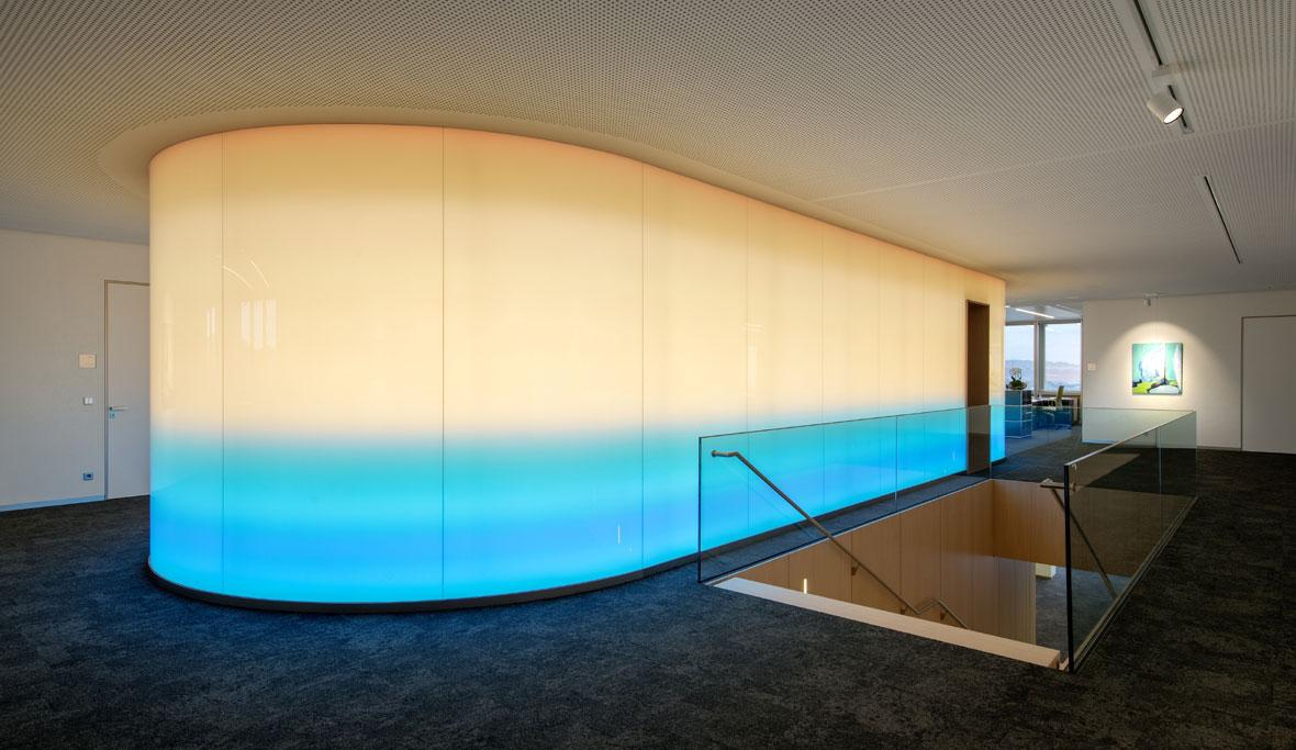 mur lumineux led latest tout savoir sur les panneaux led lumineux extraplats with mur lumineux. Black Bedroom Furniture Sets. Home Design Ideas