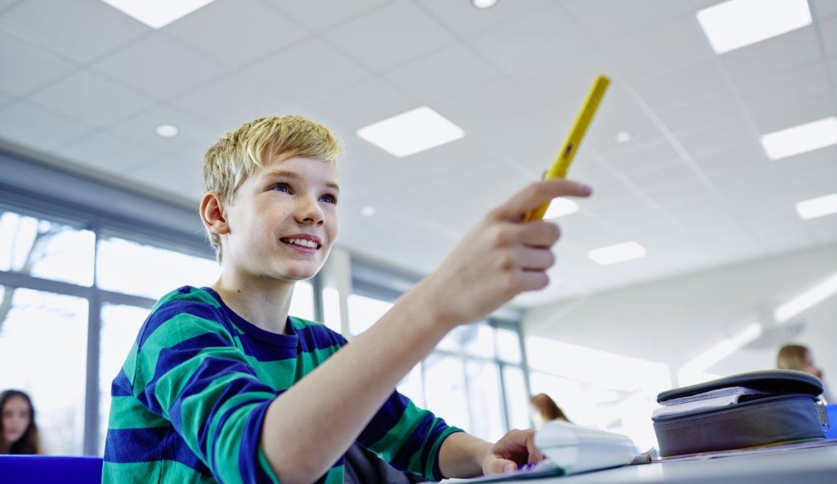 Lichtmanagement in opleidingsinstellingen