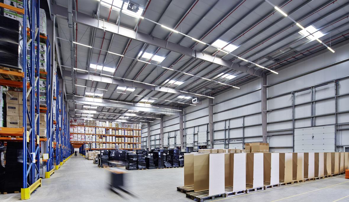 varo logistikzentrum lier belgien trilux. Black Bedroom Furniture Sets. Home Design Ideas