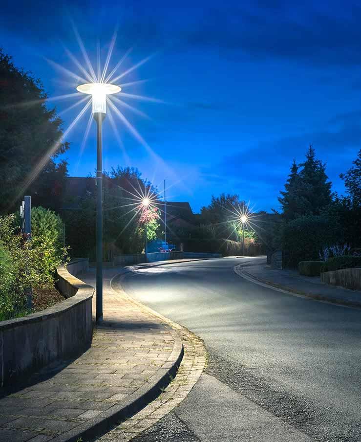 L'éclairage public - Hameln, Allemagne