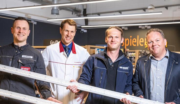E-Line Next LED hult supermarkt in nieuw licht