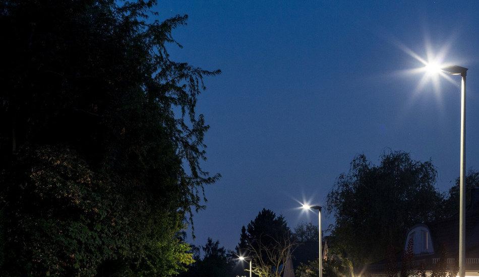 Iluminación de las calles de Bad Homburg - Alemania