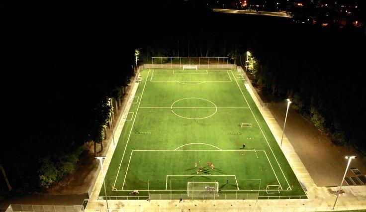 Licht voor sportvelden