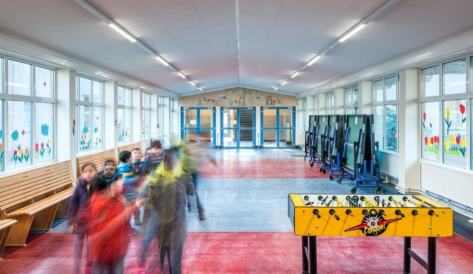 L'école « an der Wakenitz » - Lübeck, Allemagne