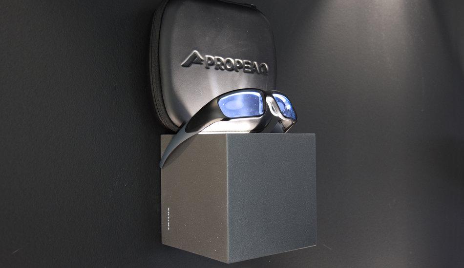 Lichtbril gaat team LEDsFoundation door zware Roparun-momenten loodsen