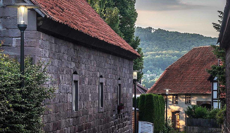 Außenbeleuchtung - Hameln, Deutschland