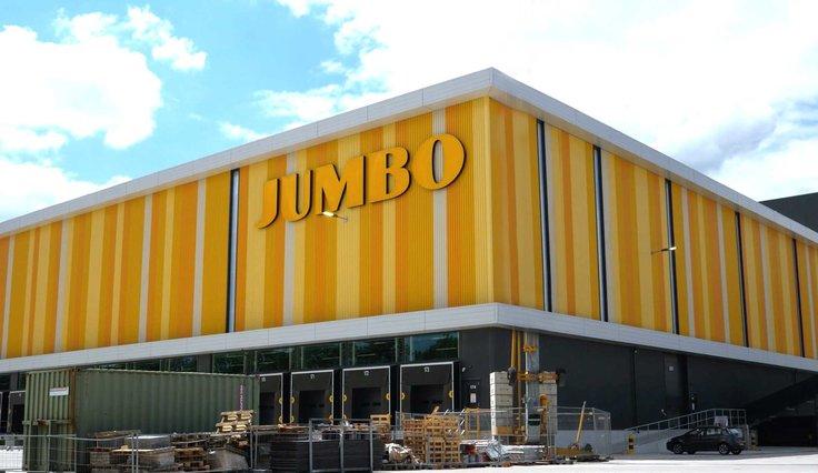 Full-service voor nieuwbouw Jumbo DC
