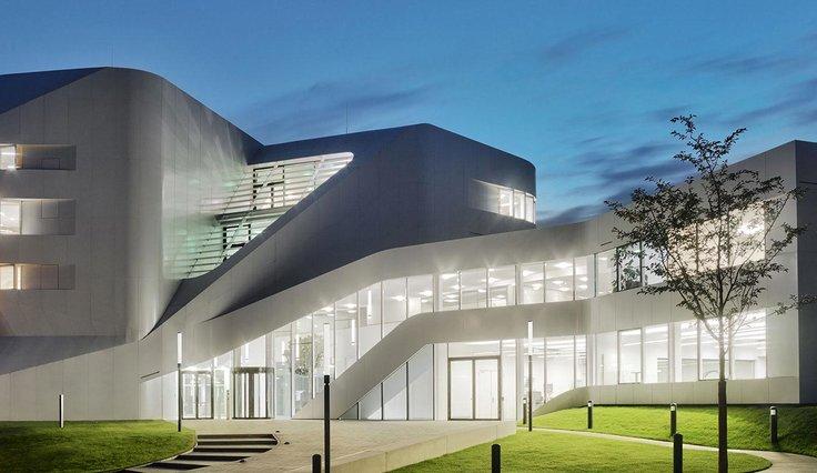 Casa di lavoro della conoscenza - Fraunhofer Institute - Stuttgart, Germania