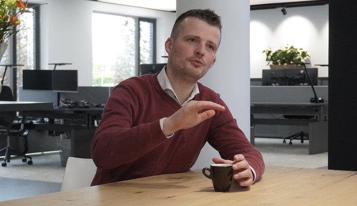 Aan tafel met Peter Kluijfhout