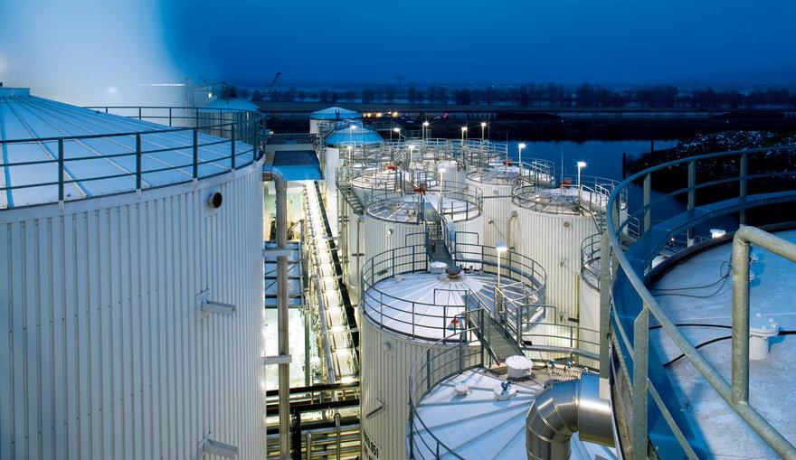 Aussenlager Energieeffizienz Insdustrie TRILUX