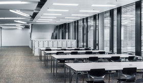 Beleuchtung von Verwaltungsräumen in Bildungsbereichen