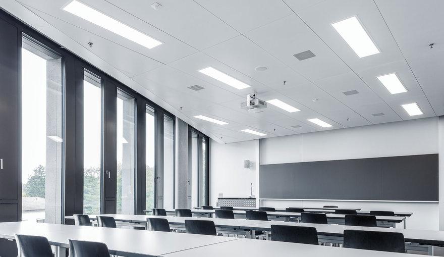 Bildungsbereiche licht und schulbeleuchtung trilux - Sistemas de iluminacion interior ...