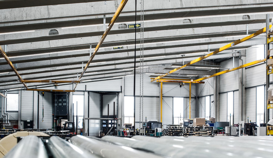 Production halls  Lighting for industry  Industry  Application