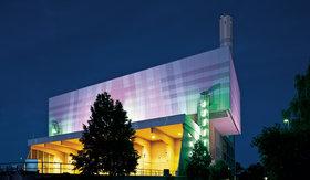 Beleuchtung von Fassaden in der Industrie