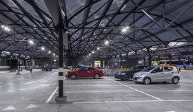 LED lighting for industry parking areas