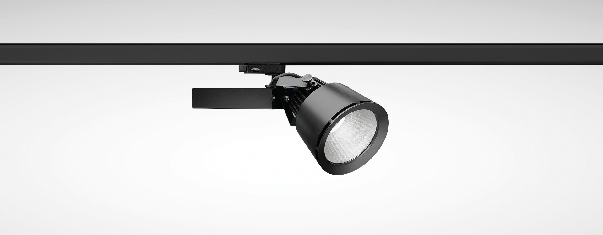 Projecteur led shopi br pour rails conducteurs for Projecteur led interieur